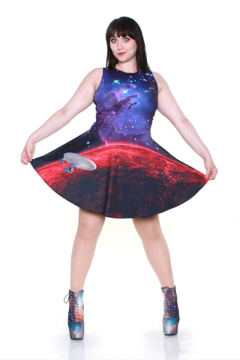 Star Trek™ Nebula A-Line Dress