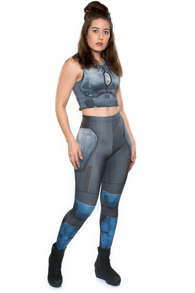 Nighthawk Grey Leggings