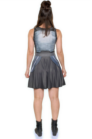 Platinum A-Line Dress