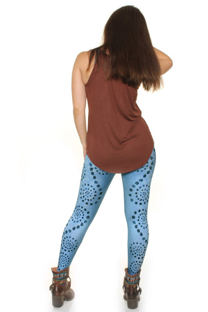 Radiant Swirls Leggings