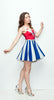 The Patriot Girl Dress (Red Variant) - A-Line - Archived