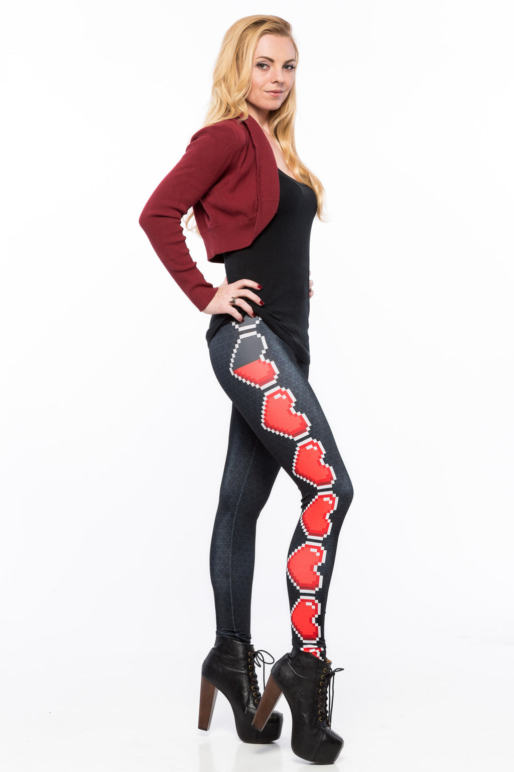 Loaded Hearts Leggings