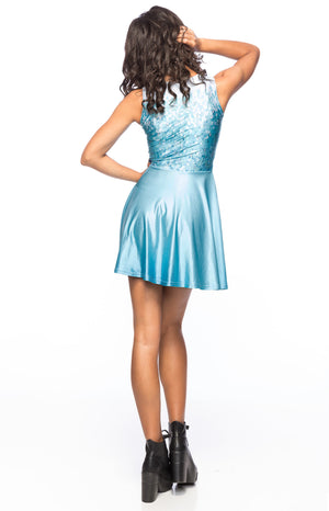 Snow Queen A-Line Dress