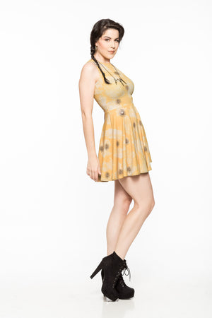 Sunburst A-Line Dress