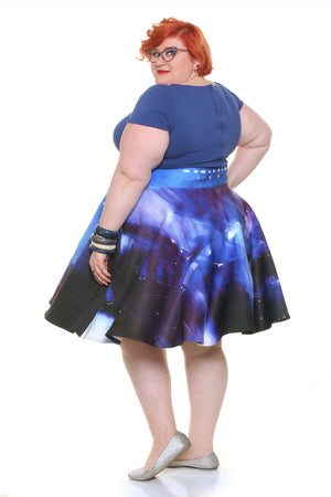 Star Trek™ The Motion Picture: Enterprise in Drydock Midi Skirt