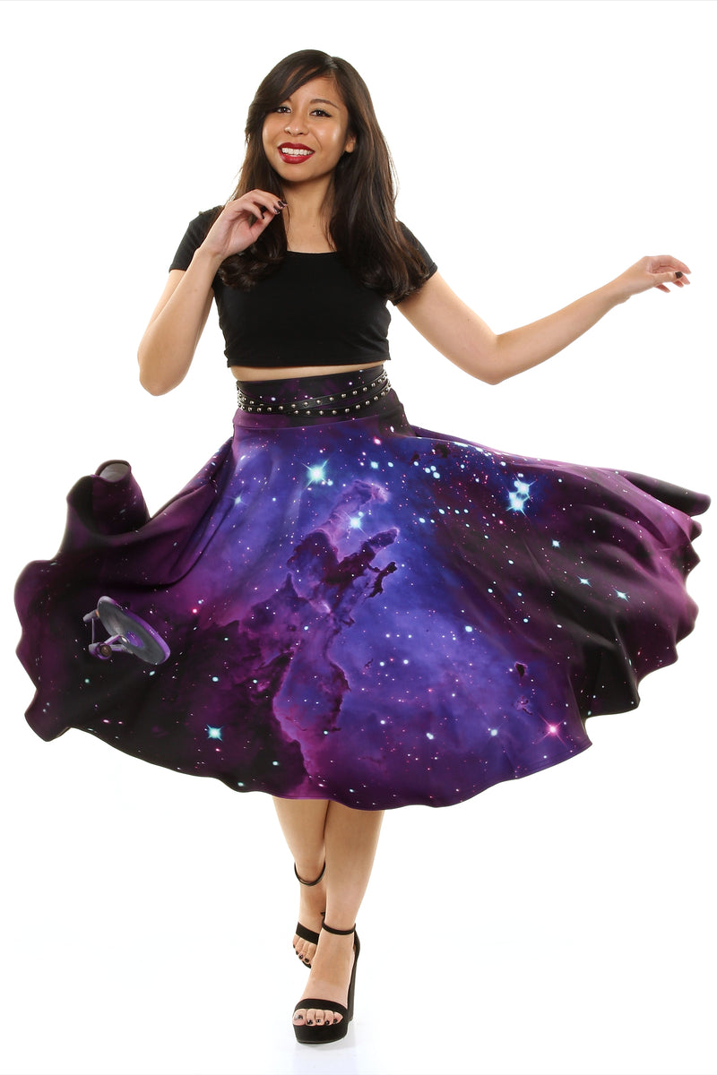 Star Trek™ Nebula Midi Skirt