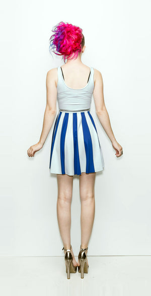 The Patriot Girl Dress (White Variant) - A-Line