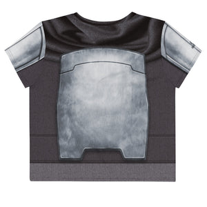 Platinum Loose Crop Top