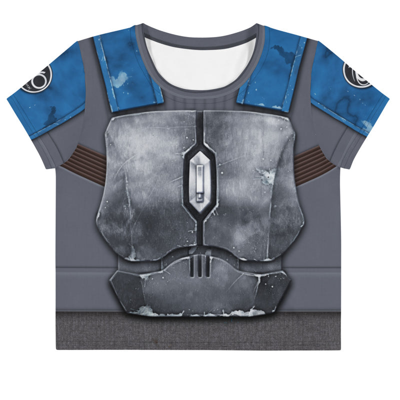 Nighthawk Grey Loose Crop Top