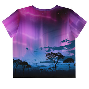Aurora Plains Loose Crop Top