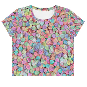 Geek Love Loose Crop Top