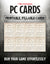 Fillable PC Cards (5E)