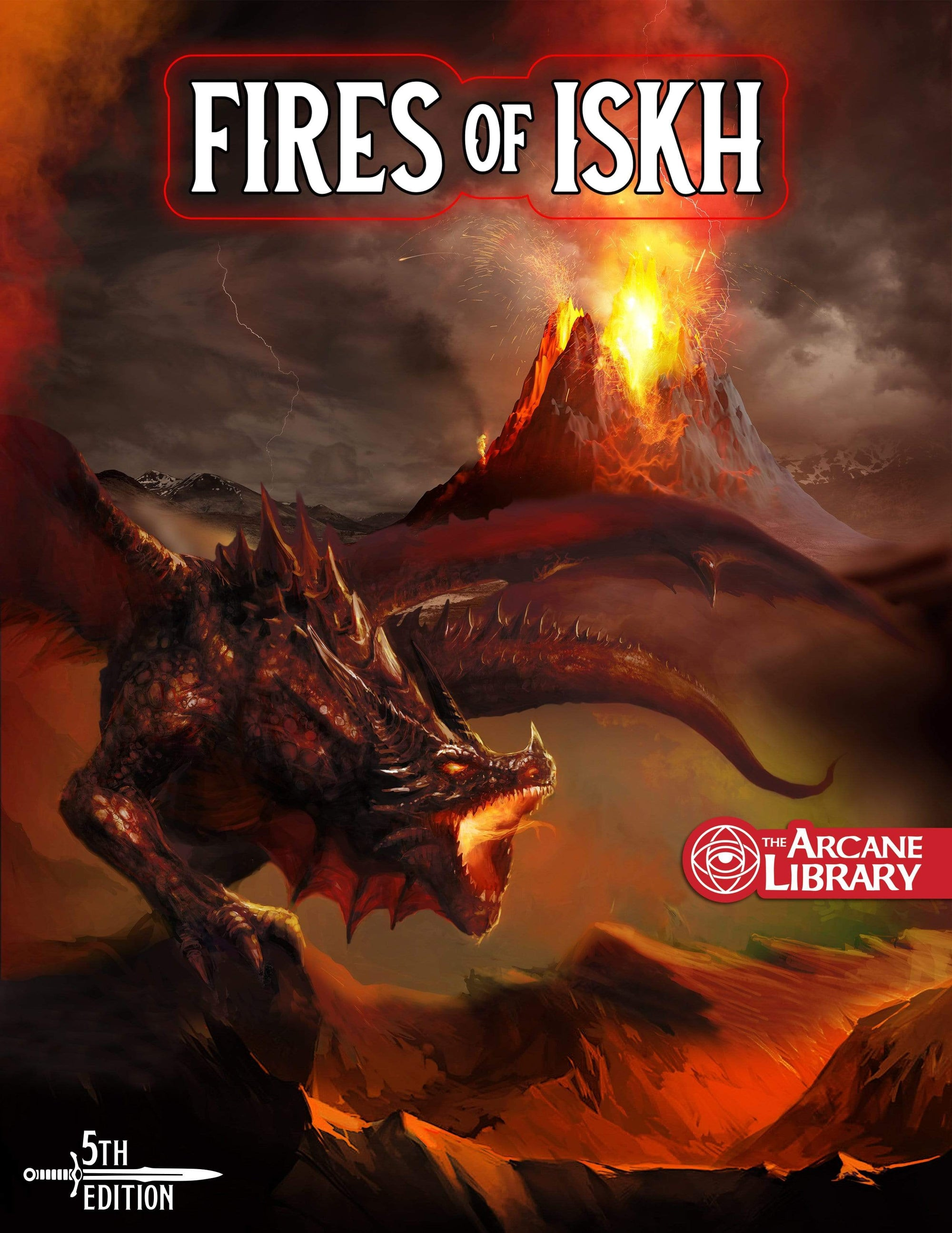 Fires of Iskh, 20th-Level Adventure (5E)