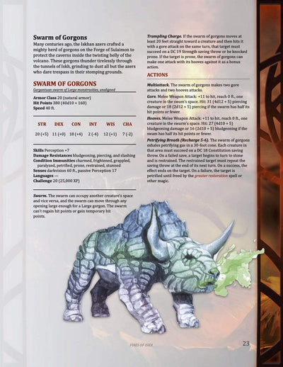 Fires of Iskh, 20th level (5E)
