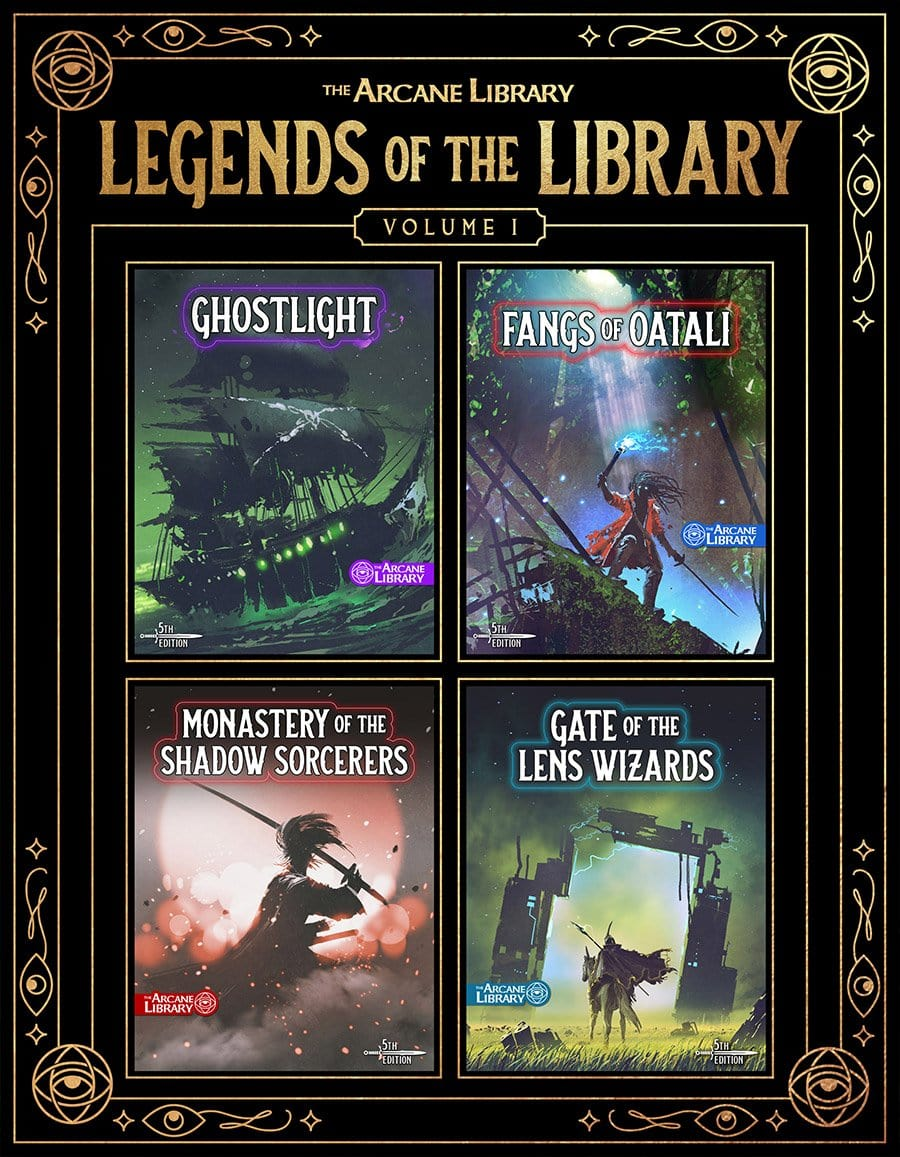Legends of the Library, Vol. 1: Four Adventures (5E)