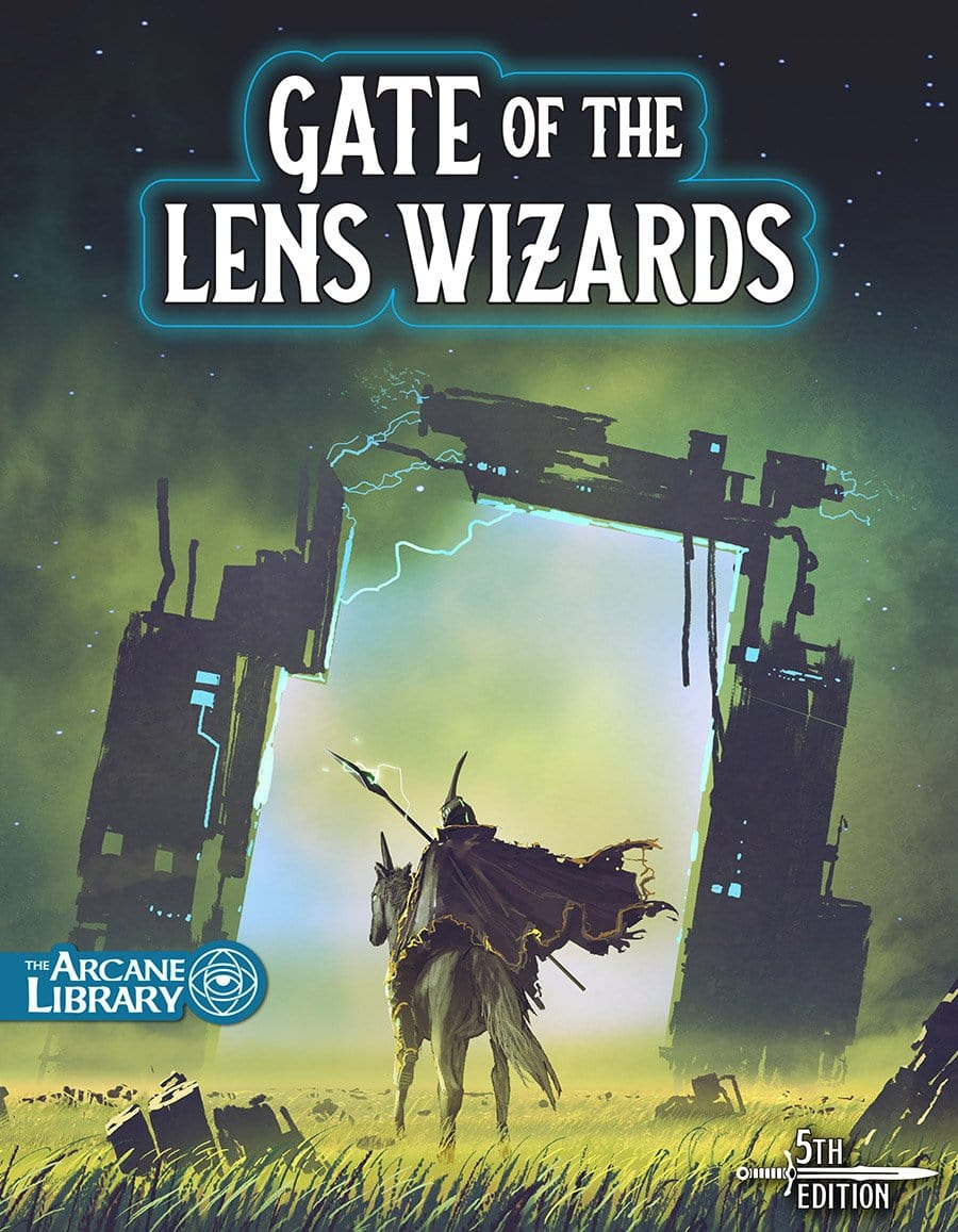 Cover of Gate of the Lens Wizards