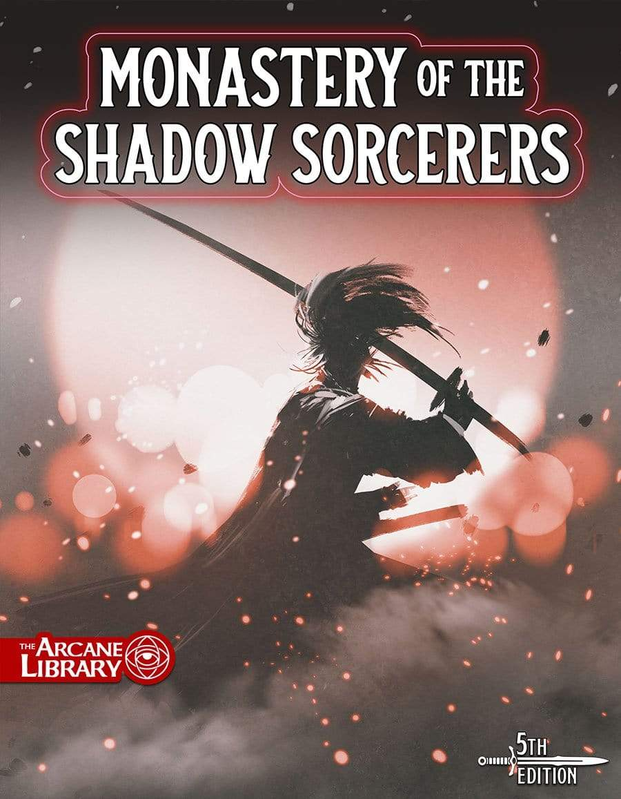 Monastery of the Shadow Sorcerers, 8th-Level Adventure (5E)