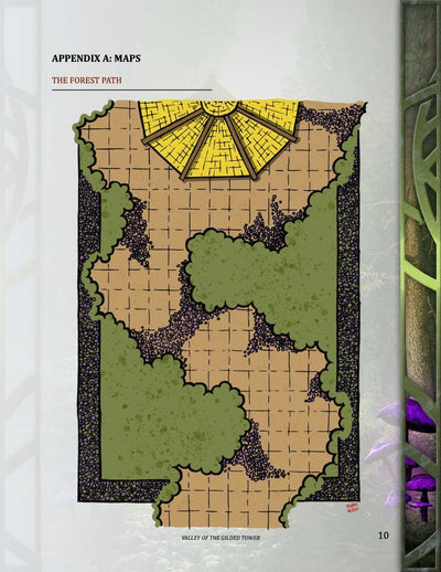 Valley of the Gilded Tower, 2nd level (5E)