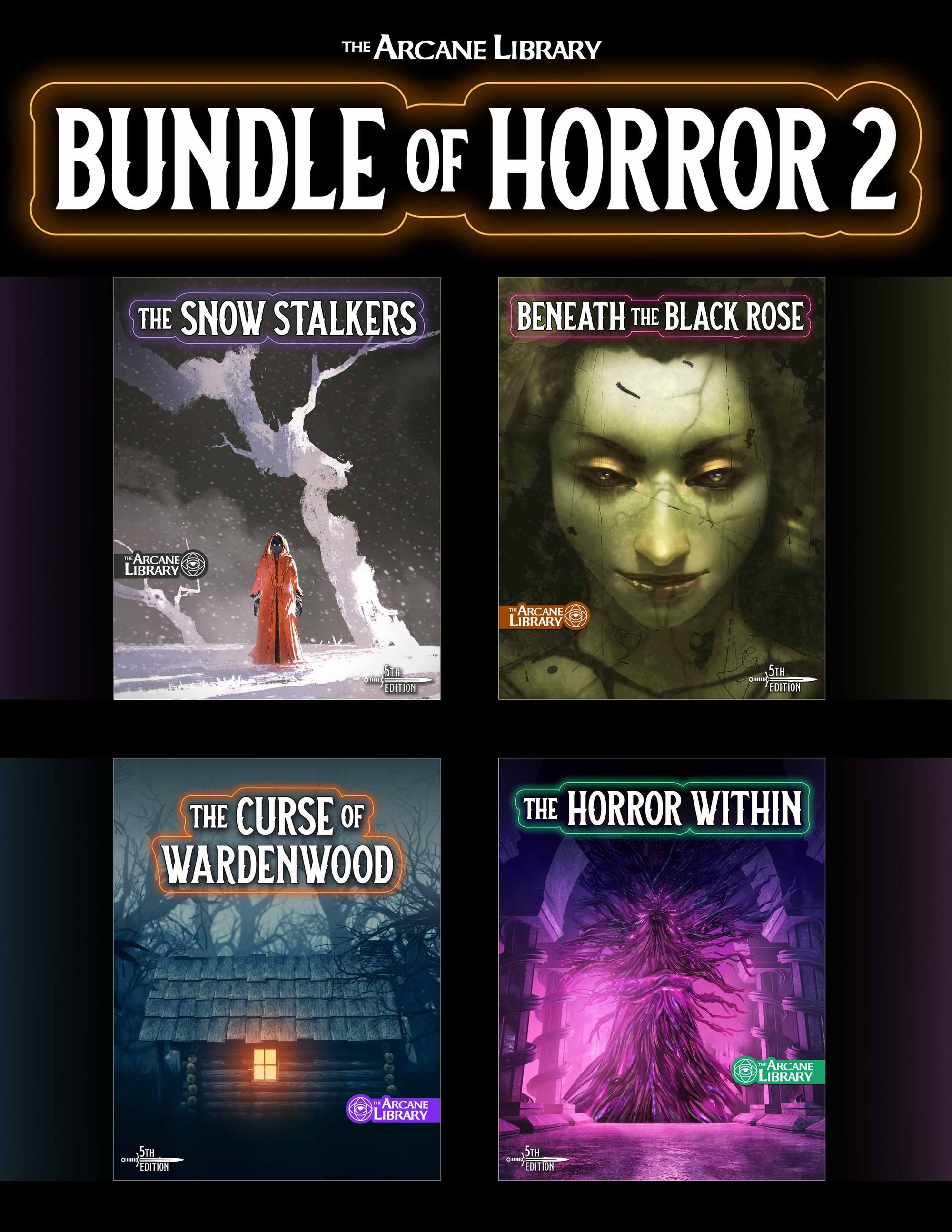 Bundle of Horror 2, D&D horror one shot, best D&D adventure