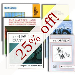 Harp Offer on Temple Records - 25% off!