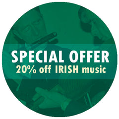 Special Offer - 20% off our Irish Music Collection