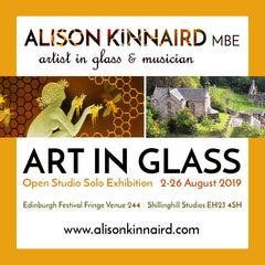 Alison Kinnaird - Art in Glass Exhibition