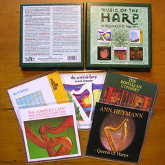 Music of the Harp in Scotland and Ireland (5 CD Boxed Set)
