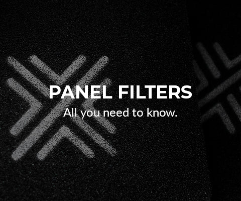Panel filters info mobile banner