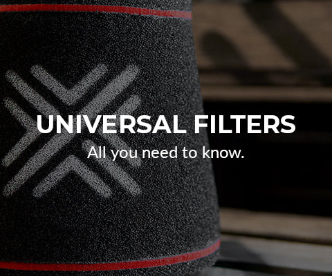 Universal filters info mobile banner