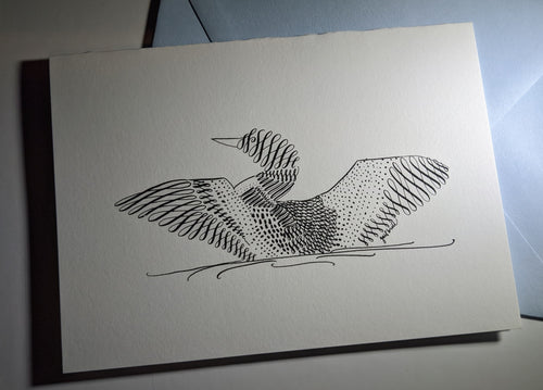 Calligraphy Loon