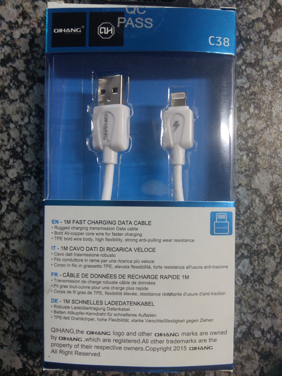 Qihang C38 Quick Charge Cable - For iPhone