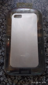 iPhone 5 Silver Cover