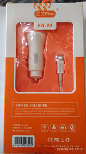 ##Buy 10 get 1 FREE## Ezra 2.4A Micro USB Car Charger