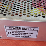 ##Buy 10 get 1 FREE## 12v 20Amp Power Supply