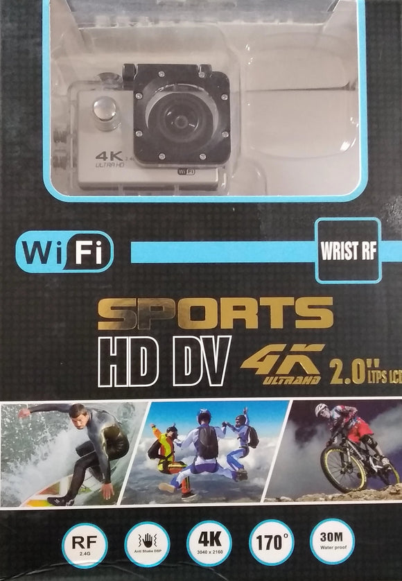 4K WiFi Ultra HD Sports Action Camera