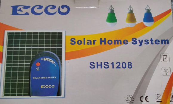 Ecco Home Solar Backup System