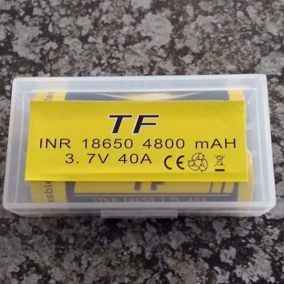 TF 18650 3.7v Lithium Rechargeable Battery Set