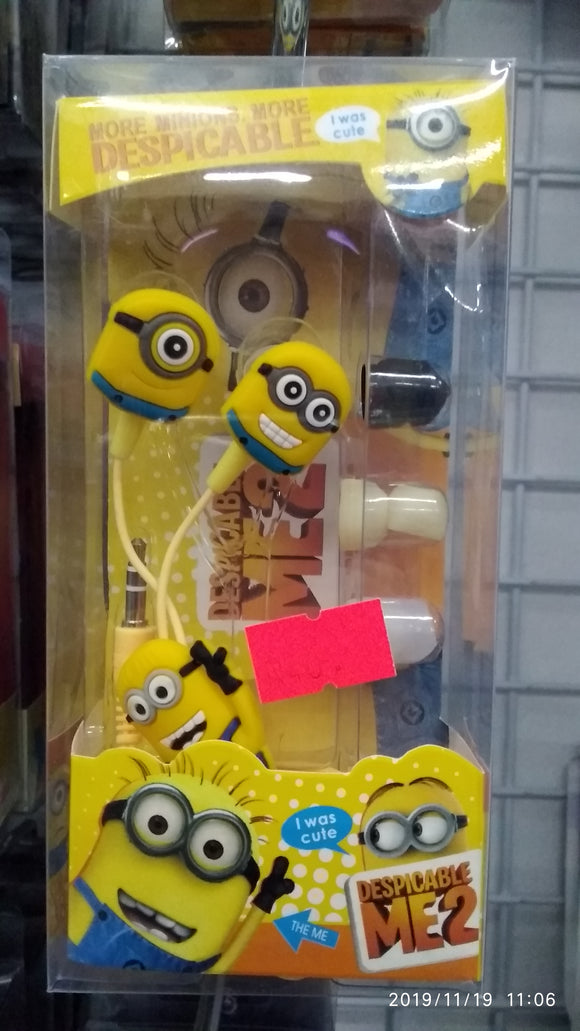 Despicable Me Earphones for kids