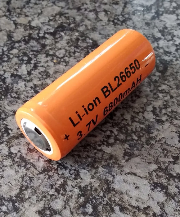 ##Buy 10 get 1 FREE## 4000mah 26650 Lithium Rechargeable battery