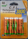 NI-MH AA Rechargeable battery Pack