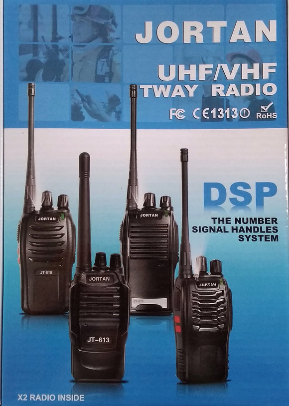 Jortan JT-610 2way Radio Set