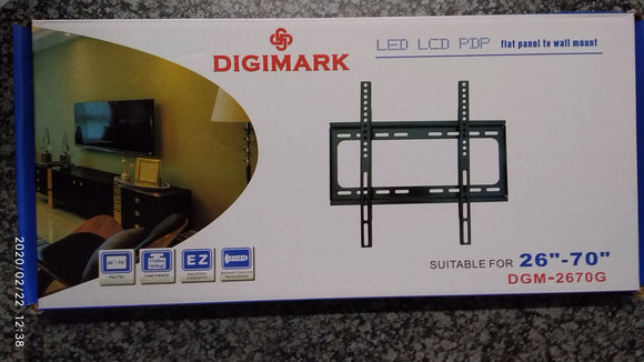 Digimark Flat Panel TV Wall Mount 26 to 70 Inch