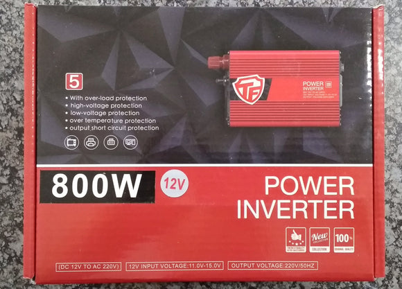 800watt 12v DC to AC Inverter