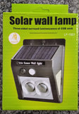 Solar Outdoor Wall Sensor LED Light