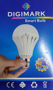 #50PC BULK SALE#  Digimark B22 5w Emergency Smart LED Bulb