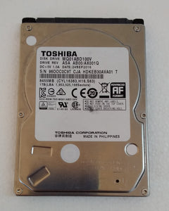 Toshiba 120GB 2.5Inch Laptop Hard Drive