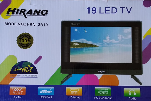 Hirano 19 Inch Led TV HD Ready