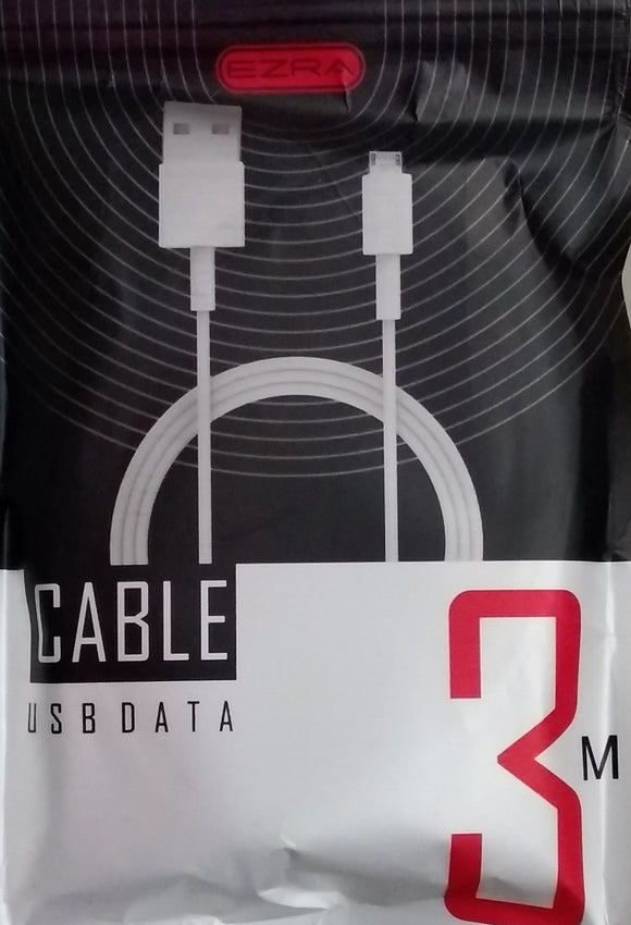 Ezra USB Micro USB Data Cable 3M