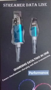 Streamer Data Line Lightning Charging Data/Two In One