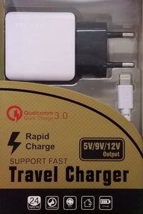 TD-LTE Lightning Rapid Charge Travel Charger